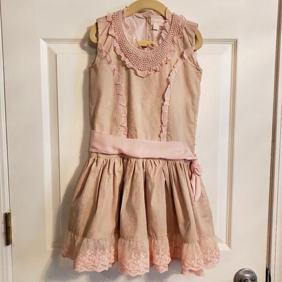 7fa88ae876b Trish Scully Child Beaded   Lace Princess Dress. M 5bd9d619f63eeabf65805b9c